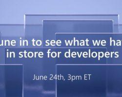 Microsoft проведет конференцию для разработчиков 24 июня