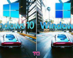 Инсайдер сравнил работу 11 игр на Windows 10 и Windows 11