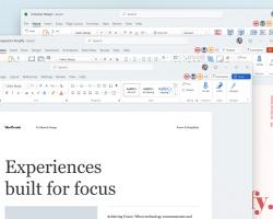 Инсайдеры Microsoft испытали новый Office